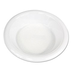 Boardwalk Hi-Impact Plastic Dinnerware, Bowl, 10-12 Oz, White, 1000/Carton