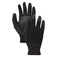 Palm Coated Cut-Resistant HPPE Glove, Salt & Pepper/Black, Size 10 (X-Large), DZ