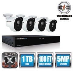 4 Channel Extreme HD Video Security DVR, 5MP Resolution