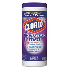 Disinfecting Wipes, 7 x 8, Fresh Lavender, 35/Canister