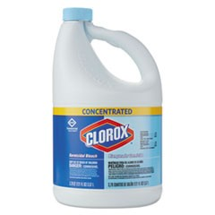 Concentrated Germicidal Bleach, Regular, 121oz Bottle