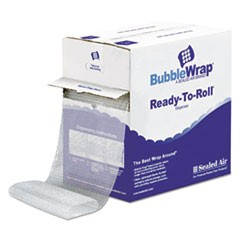 "Bubble Wrap� Cushioning Material in Dispenser Box, 3/16"" Thick, 12"" x 175 ft."