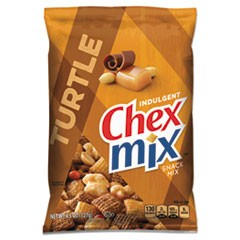 Chex Mix Chocolate Turtle, 4.5oz, 7/Box
