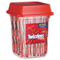 Strawberry Twizzlers Licorice, Individually Wrapped, 2lb Tub
