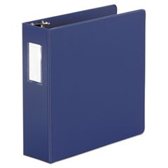 Economy Non-View Round Ring Binder, 3 Rings, 3