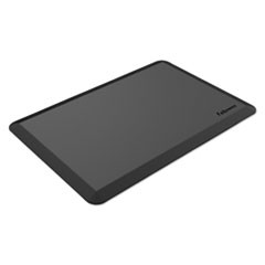 Anti-Fatigue Wellness Mat, Rectangular; Beveled Edges, 36 x 24, Black