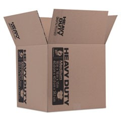 "Heavy-Duty Boxes, Regular Slotted Container (RSC), 16"" x 16"" x 15"", Brown"