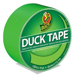 "Colored Duct Tape, 3"" Core, 1.88"" x 15 yds, Neon Green"