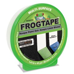"General Purpose FROGTAPE Painting Tape, 3"" Core, 1.41"" x 45 yds, Green"