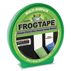 "General Purpose FROGTAPE Painting Tape, 3"" Core, 0.94"" x 45 yds, Green"