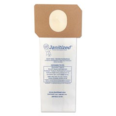 Vacuum Filter Bags Designed to Fit Electrolux Type U & ProTeam ProForce, 100/CT