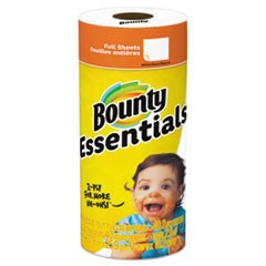 TOWEL,BOUNTYBSCSNGLRLL,WH