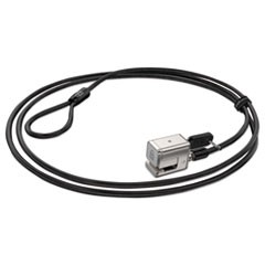 Keyed Cable Lock for Surface Pro, 6 ft Carbon Steel Cable, 2 Keys