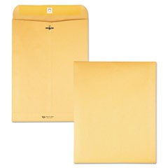 Clasp Envelope, 9 1/2 x 12 1/2, 28lb, Brown Kraft, 100/Box
