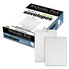 Redi Strip Catalog Envelope, 9 x 12, White, 100/Box