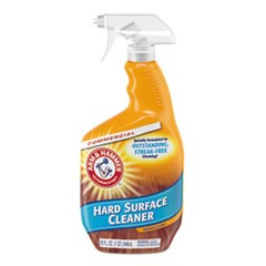 Hard Surface Cleaner, Orange Scent, 32 oz Trigger Spray Bottle, 6/CT