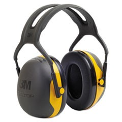 PELTOR X2 Earmuffs, 24 dB, Yellow/Black, 10/Carton