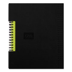 Idea Collective Professional Wirebound Hardcover Notebook, 5 7/8 x 8 1/4, Black