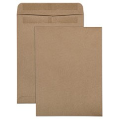 100% Recycled Brown Kraft Redi-Seal Envelope, #10 1/2, Cheese Blade Flap, Redi-Seal Closure, 9 x 12, Brown Kraft, 100/Box