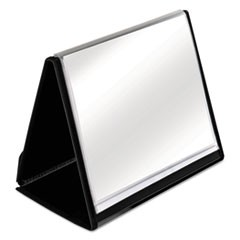 Cardinal Showfile Horizontal Display Easel, 20 Letter-Size Sleeves, Black