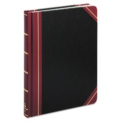 Quadrille Accounting Book, Black, 300 Pages, 8 1/8 x 10 3/8