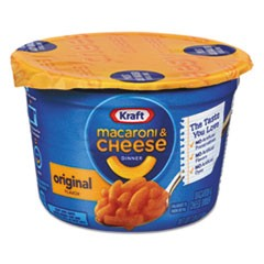 Easy Mac Macaroni & Cheese, Micro Cups, 2.05oz, 10/Carton