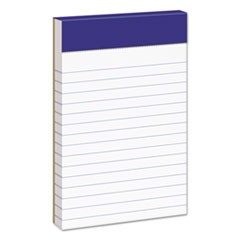 Perforated Writing Pads, Narrow Rule, 3 x 5, 50 Sheets, Dozen