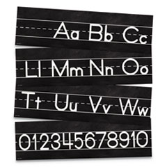 "Mini Bulletin Board Sets, Industrial Chic, 168"" x 6"", 8 Pieces"