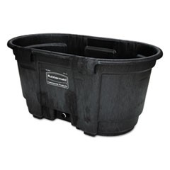 Stock Tank, 100 gal, Structural Foam, Black