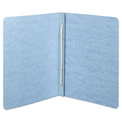 "Presstex Report Cover, Top Bound, Prong Clip, Letter, 2"" Cap, Light Blue"