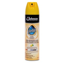 Furniture Polish, Lemon, 14.2 oz, Aerosol, 6/Carton