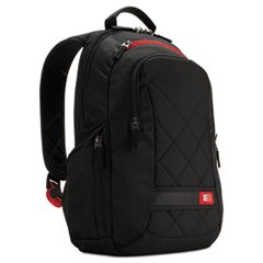 "Diamond 14"" Backpack, 6.3"" x 13.4"" x 17.3"", Black"
