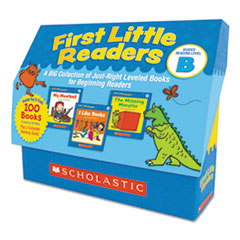 First Little Readers, Reading, Grades Pre K-2, 8 Pages/Book, 20 Books, Level B