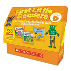 First Little Readers, Reading, Grades Pre K-2, 8 Pages/Book, 5 Books, Level D
