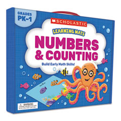 Scholasticlearning Mats Kit, Numbers, 70 Cards, Ages 3 And Up