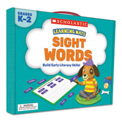 Scholasticlearning Mats Kit, Sight Word Games, 120 Cards, Ages 5 And Up