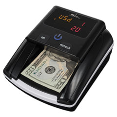 Quick Scan Counterfeit Detector, Liquid; MICR, U.S. Currency, Black