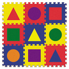 Creativity Street Wonderfoam Early Learning, Shape Tiles, Ages 2 And Up