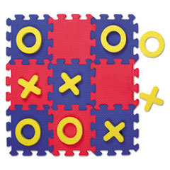 Creativity Street Wonderfoam Early Learning, Tic Tac Toe Puzzle Mat, Ages 3 And Up