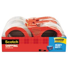 3850 Heavy-Duty Packaging Tape with Dispenser, 3