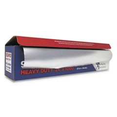 "Heavy-Duty Aluminum Foil Roll, 24"" x 1,000 ft"