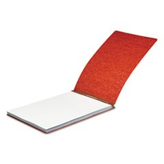 "Pressboard Report Cover, Spring Clip, Letter, 2"" Capacity, Earth Red"