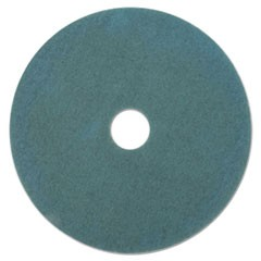 "Aqua Burnishing Floor Pads, 21"" Diameter, 5/Carton"