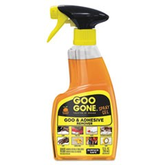 Spray Gel Cleaner, Citrus Scent, 12 oz Spray Bottle, 6/Carton