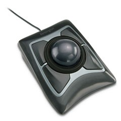 Kensington Expert Mouse Trackball, Usb 2.0, Left/Right Hand Use, Black/Silver