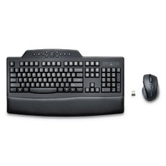 Pro Fit Comfort Desktop Set, Wireless, Black