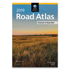 Rand McNally Road Atlases, 2019, Stapled, 144 Pages