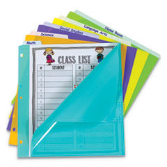 "5-Tab Index Dividers with Vertical Tab, 5-Tab, 11 1/2"" x 10"""