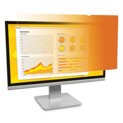 "Frameless Gold Privacy Filter, For 21.5"", Widescreen, Monitor, 16:9 Aspect Ratio"