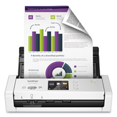 ImageCenter ADS-1700W Wireless Dual CIS Scanner, 600 dpi Optical Resolution, 20-Sheet Duplex Auto Document Feeder